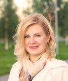 Πορτρέτο του ξανθού κοριτσιού Στοκ φωτογραφία με δικαίωμα ελεύθερης χρήσης
