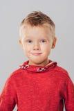 Πορτρέτο του συγκινημένου και έκπληκτου αγοριού παιδιών Στοκ φωτογραφία με δικαίωμα ελεύθερης χρήσης