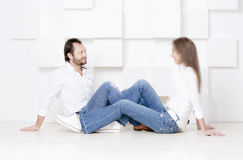 Πορτρέτο του συζύγου και της συζύγου Στοκ Φωτογραφία
