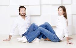 Πορτρέτο του συζύγου και της συζύγου Στοκ φωτογραφία με δικαίωμα ελεύθερης χρήσης