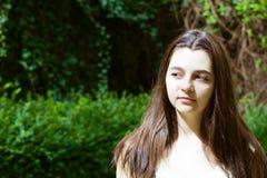 Πορτρέτο του συμπαθητικού έφηβη Στοκ Φωτογραφία