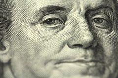 Πορτρέτο του υποβάθρου του George Washington Στοκ Φωτογραφίες