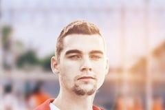 Πορτρέτο του φυλακισμένου Στοκ Φωτογραφία