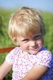 Πορτρέτο του χαριτωμένου κοριτσιού Στοκ Εικόνες