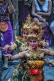 Πορτρέτο του χορού Kecak στοκ εικόνα με δικαίωμα ελεύθερης χρήσης