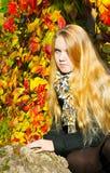 Πορτρέτο του όμορφου κοριτσιού ι Στοκ Φωτογραφίες