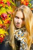 Πορτρέτο του όμορφου κοριτσιού Στοκ εικόνες με δικαίωμα ελεύθερης χρήσης