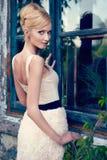 Πορτρέτο του όμορφου κοριτσιού στοκ φωτογραφίες