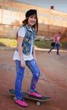 Πορτρέτο του όμορφου κοριτσιού στοκ φωτογραφίες με δικαίωμα ελεύθερης χρήσης