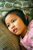 Πορτρέτο του όμορφου μοντέρνου νέου ασιατικού κοριτσιού Στοκ φωτογραφία με δικαίωμα ελεύθερης χρήσης