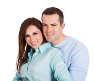 Πορτρέτο του όμορφου νέου ζεύγους Στοκ φωτογραφία με δικαίωμα ελεύθερης χρήσης