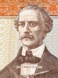 Πορτρέτο του Juan Pablo Duarte Στοκ φωτογραφίες με δικαίωμα ελεύθερης χρήσης