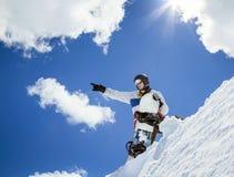 Πορτρέτο του snowboarder Στοκ Φωτογραφία