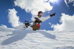 Πορτρέτο του snowboarder Στοκ Εικόνες