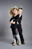 Πορτρέτο των αγοριών και των κοριτσιών Στοκ Εικόνα