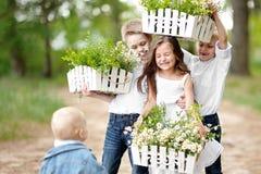 Πορτρέτο των μικρών παιδιών Στοκ φωτογραφία με δικαίωμα ελεύθερης χρήσης