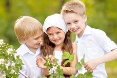 Πορτρέτο των μικρών παιδιών Στοκ εικόνες με δικαίωμα ελεύθερης χρήσης