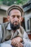 Πορτρέτο των πακιστανικών λαών στοκ εικόνες