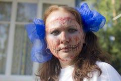 πορτρέτο φοβερό Στοκ φωτογραφίες με δικαίωμα ελεύθερης χρήσης
