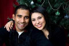 πορτρέτο Χριστουγέννων Στοκ εικόνες με δικαίωμα ελεύθερης χρήσης