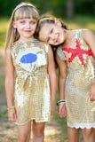 πορτρέτο δύο κοριτσιών Στοκ φωτογραφία με δικαίωμα ελεύθερης χρήσης