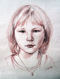 πορτρέτο Στοκ Εικόνες
