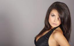 πορτρέτο brunette προκλητικό Στοκ Φωτογραφίες