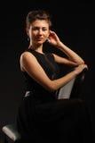 πορτρέτο brunette Στοκ Εικόνα