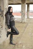 Πορτρέτο Brunette Στοκ Φωτογραφία