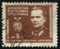 Πορτρέτο marshal Tito Στοκ Εικόνες