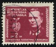 Πορτρέτο marshal Tito Στοκ Φωτογραφία