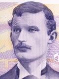 Πορτρέτο Munch Edvard στοκ φωτογραφία με δικαίωμα ελεύθερης χρήσης