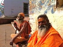 Πορτρέτο Naga Sadhus στοκ εικόνα με δικαίωμα ελεύθερης χρήσης