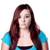 πορτρέτο redhead Στοκ Φωτογραφία