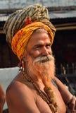 Πορτρέτο Sadhu Στοκ φωτογραφία με δικαίωμα ελεύθερης χρήσης