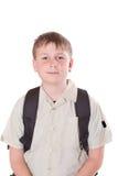 Πορτρέτο schoolboy Στοκ Εικόνες