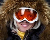 πορτρέτο snowboarder Στοκ Εικόνες