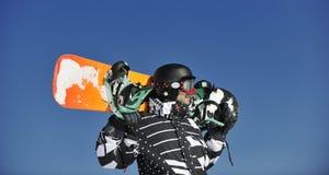 Πορτρέτο Snowboarder Στοκ Φωτογραφίες