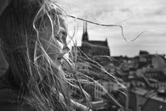 πορτρέτο W β Στοκ Φωτογραφίες
