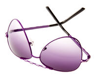 πορφυρά γυαλιά ηλίου Στοκ εικόνες με δικαίωμα ελεύθερης χρήσης