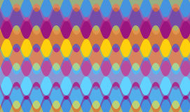 πορφυρά κύματα αλυσίδων απεικόνιση αποθεμάτων