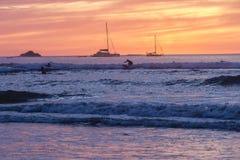 Πορφυρά κύματα σερφ Στοκ εικόνες με δικαίωμα ελεύθερης χρήσης