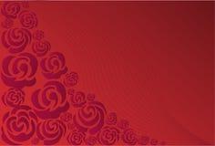πορφυρά τριαντάφυλλα απεικόνιση αποθεμάτων