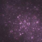 Πορφυρός γαλαξίας συστάδων | Fractal τέχνη Στοκ Φωτογραφίες