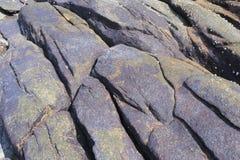 Πορφυρός ηφαιστειακός βράχος Στοκ φωτογραφίες με δικαίωμα ελεύθερης χρήσης