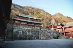 Πορφυρός ναός στοκ εικόνες