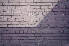Πορφυρός τουβλότοιχος Στοκ εικόνα με δικαίωμα ελεύθερης χρήσης