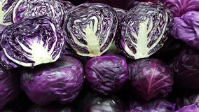 Πορφυρό λάχανο Στοκ Φωτογραφίες
