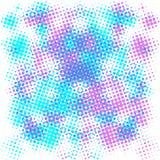 Πορφυρό και μπλε ημίτονο υπόβαθρο Στοκ Εικόνες