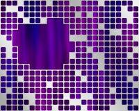 πορφυρό κείμενο θέσεων μ&epsilo στοκ φωτογραφία με δικαίωμα ελεύθερης χρήσης